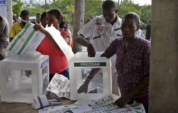 Elections en Haiti